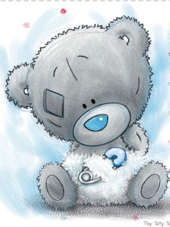 Teddy clipart baby blue Baby tatty Art tatty teddy