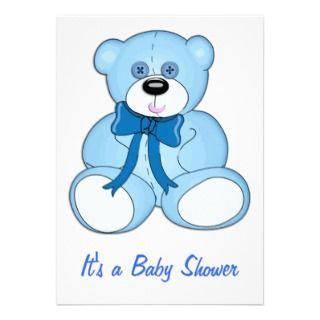Teddy clipart baby blue Teddy bear Art shower clip