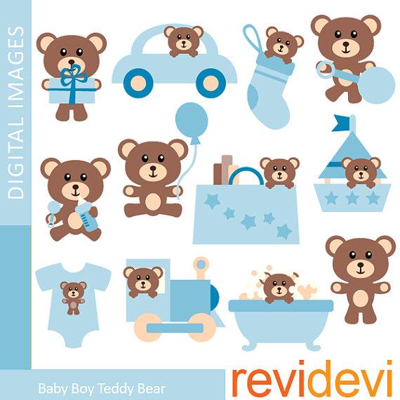 Teddy clipart baby blue Clipart Baby Collection Teddy Bear