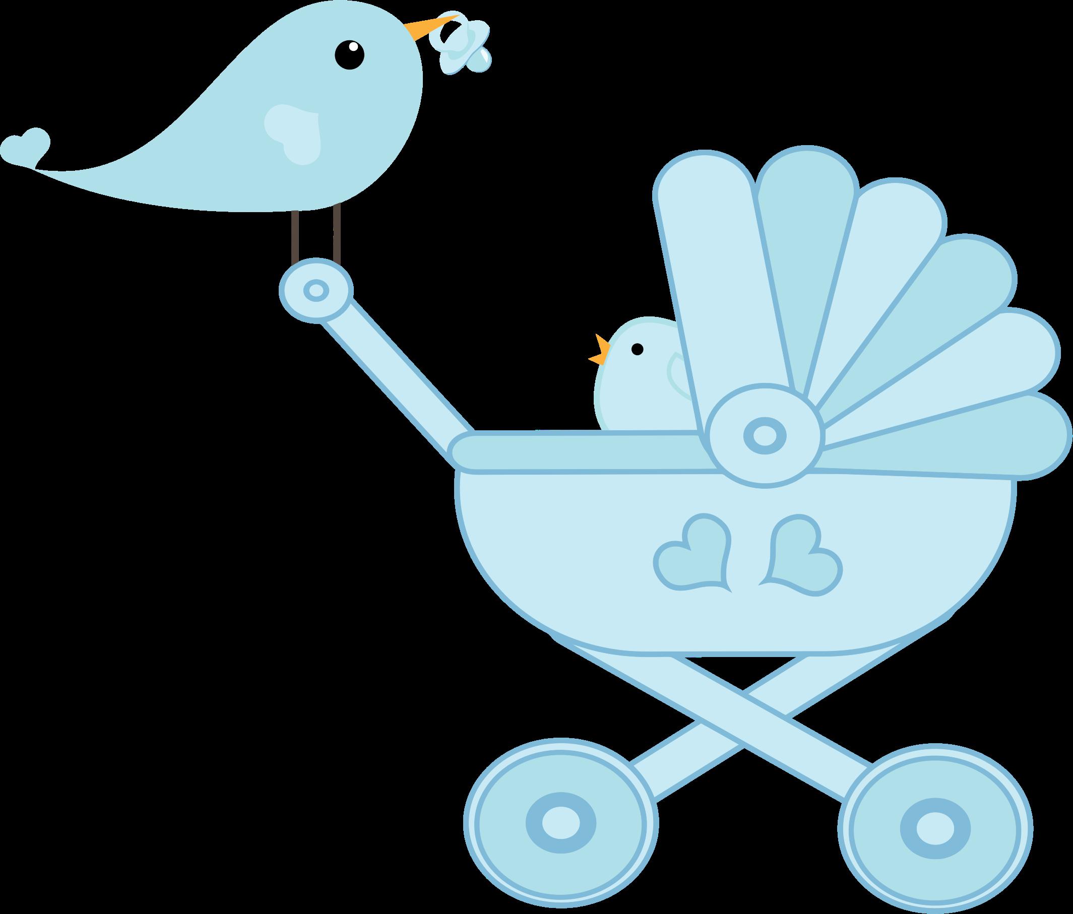 Bird clipart baby boy Stroller Baby Bird Bird Stroller