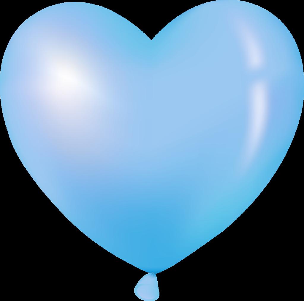 Poinsettia clipart balloon CLIP  HEART BLUE BLUE