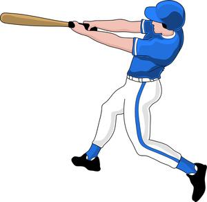 Baseball clipart baseball swing Baseball clip player Clipart Cliparting