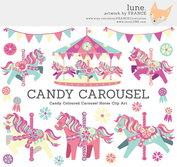 Carousel clipart street festival Pretty Clipart GET Little Candy