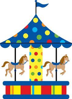 Ride clipart carousel Merry go art GAFcarnivalfun Minus