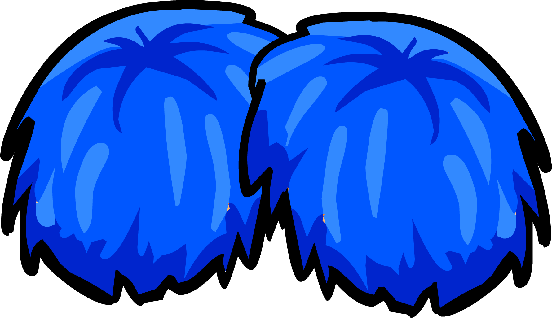 Club clipart pompom Free Cliparts Blue Clipart Art