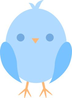 Bluebird clipart cute In Art this make color