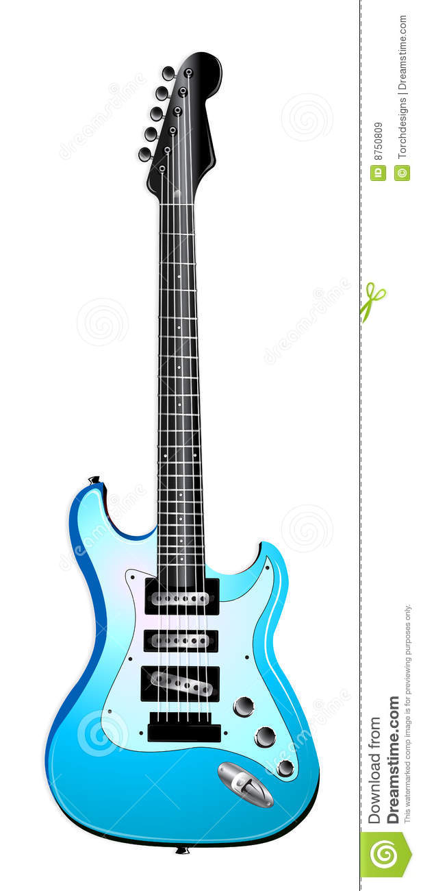 Blur clipart electric guitar Free Electric Art Images Green