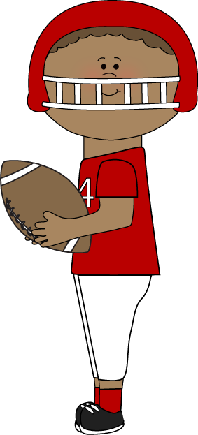 Football clipart cute Kid Clip Images Catching Art
