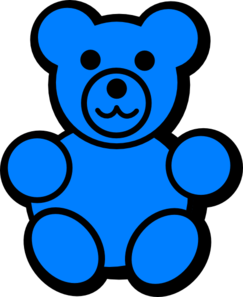 Blue clipart gummy bear Clipartix bear clipart clipart Blue
