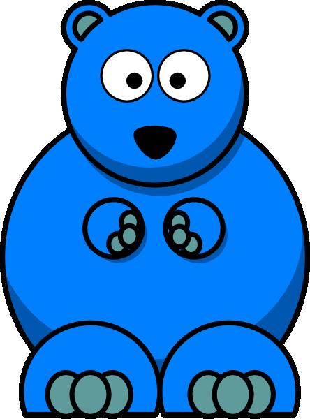 Gummy Bear clipart blue Art vector at image Clip