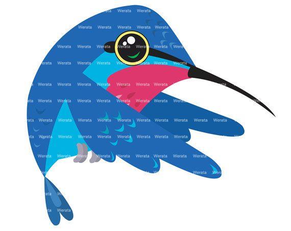 Blue clipart hummingbird Clip clip best art hummingbird