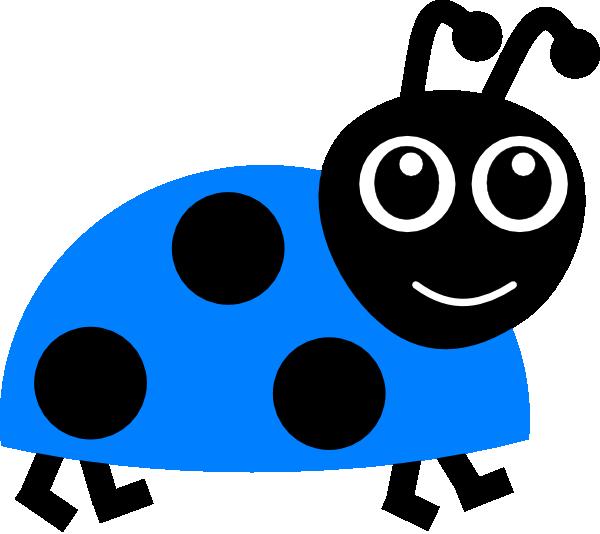 Bugs clipart blue Online Clip Art this Clker