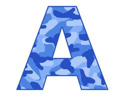 Blue clipart letter a This Digital Pin Pinterest and