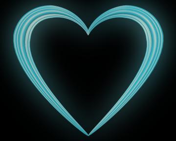 Blue clipart love heart Valentine Transparent Sky Blue Love