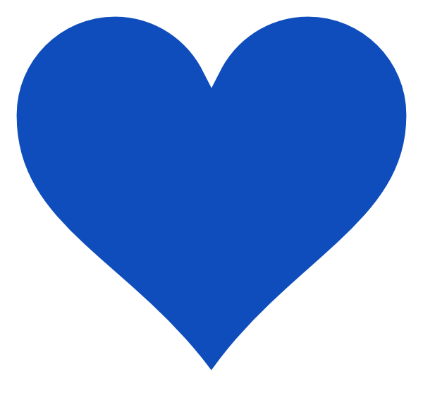 Blue clipart love heart Art Blue Heart svg Love