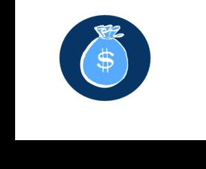 Money clipart blue Clip Blue Blue Clip