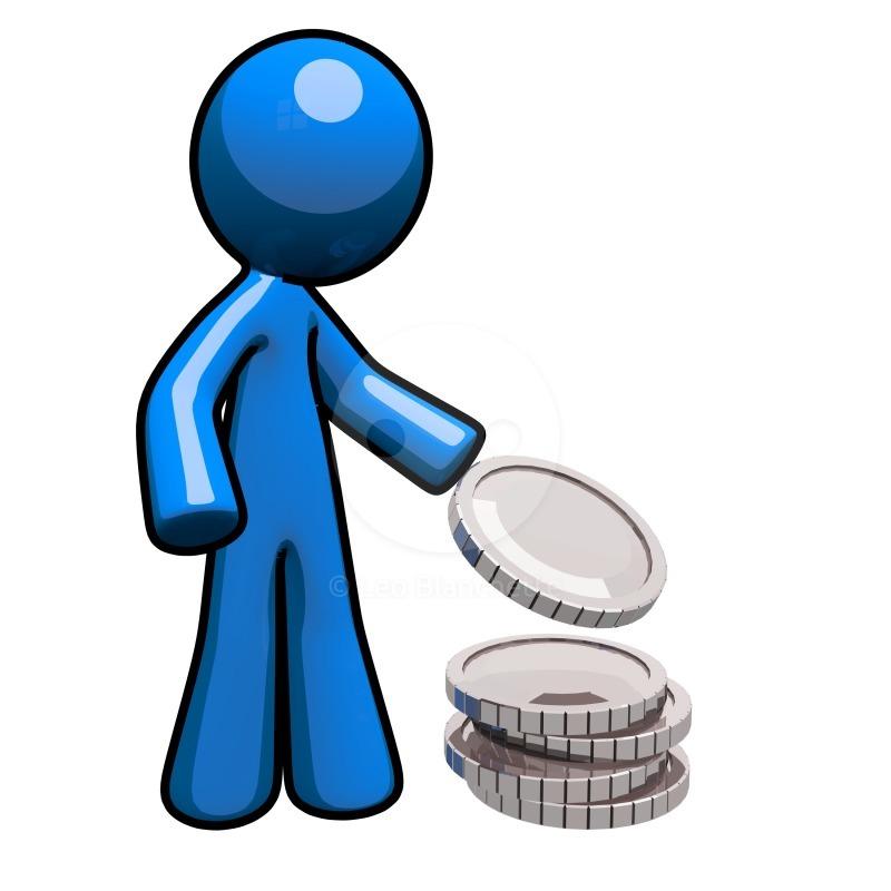 Money clipart blue Download Blue Clipart Review Review