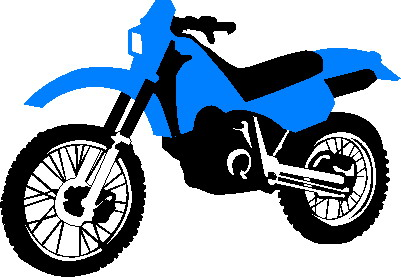 Blue clipart motorbike Clipart transport Clipart Transport Bay