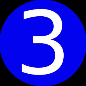 Iiii clipart three Clip Art 3 – 3