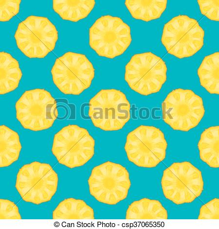 Blue clipart pineapple Pineapple Vector of blue pineapple