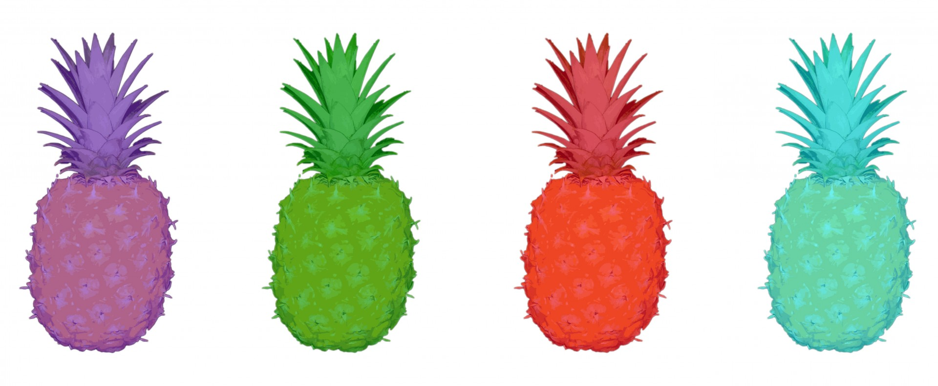Blue clipart pineapple Pineapples Photo Pineapples Domain Public