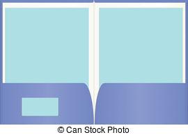 Blue clipart round frame Presentation   Folder clip