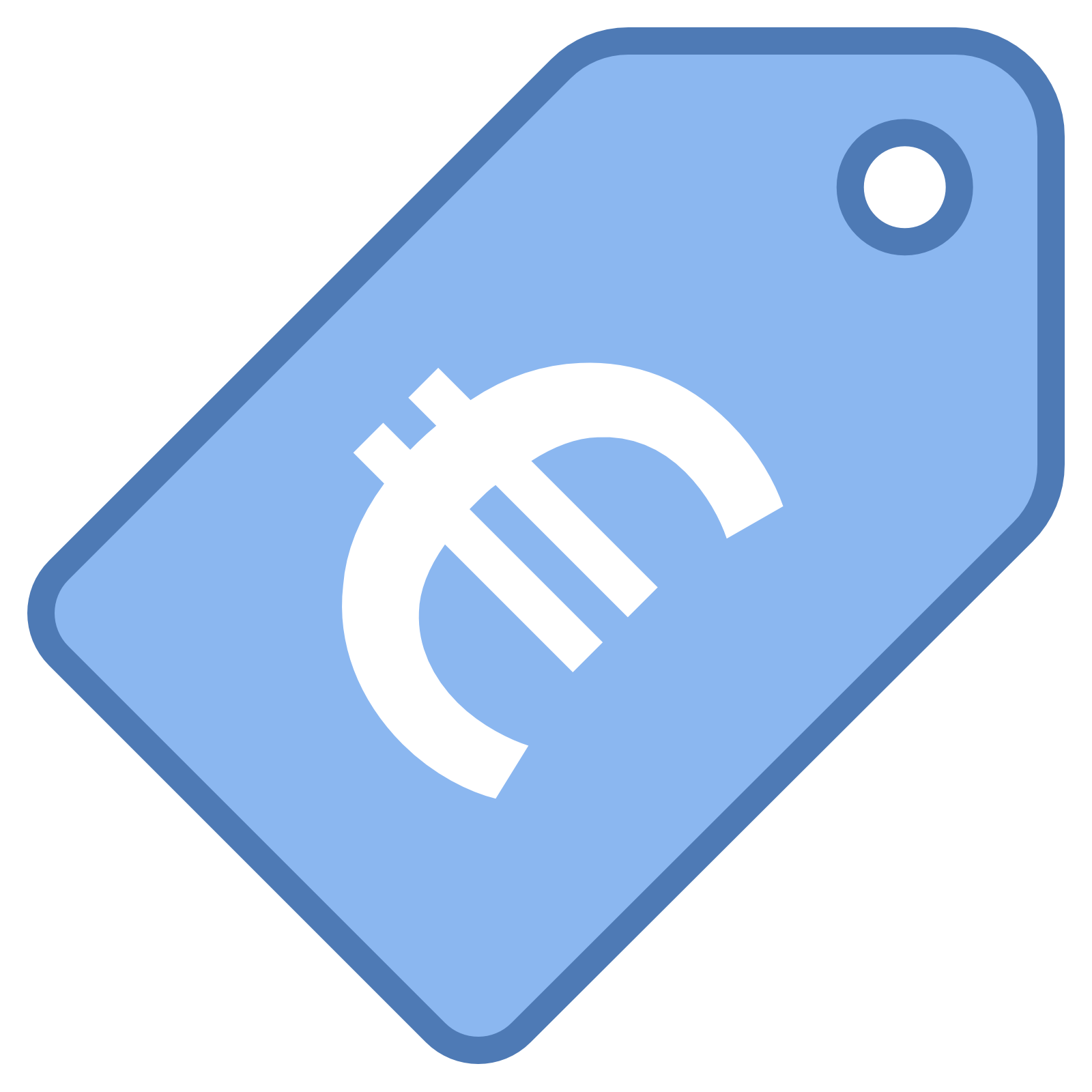 Blue clipart price tag For symbol Tag the price