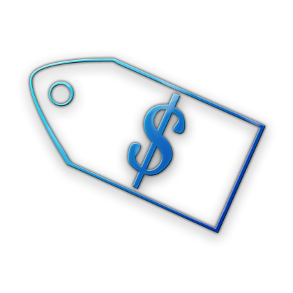 Blue clipart price tag Tag Price (Tags) Tag Icons