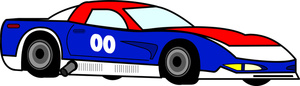 Race Car clipart blue Auto Race Best A #12329