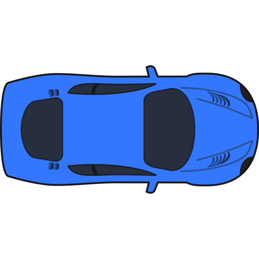 Blue Car clipart racing car Art Art on – blue