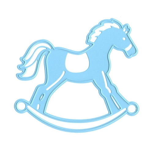 Blue clipart rocking horse Pretty Stamp you Horse embossing