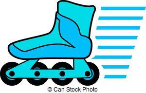 Blue clipart roller skate Roller roller 010 skates EPS