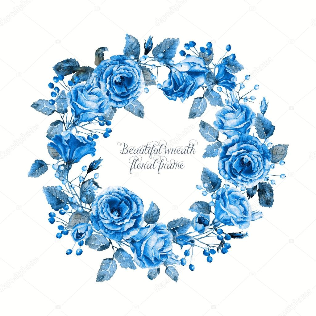Blue Rose clipart valentine rose Stock  Photo — and