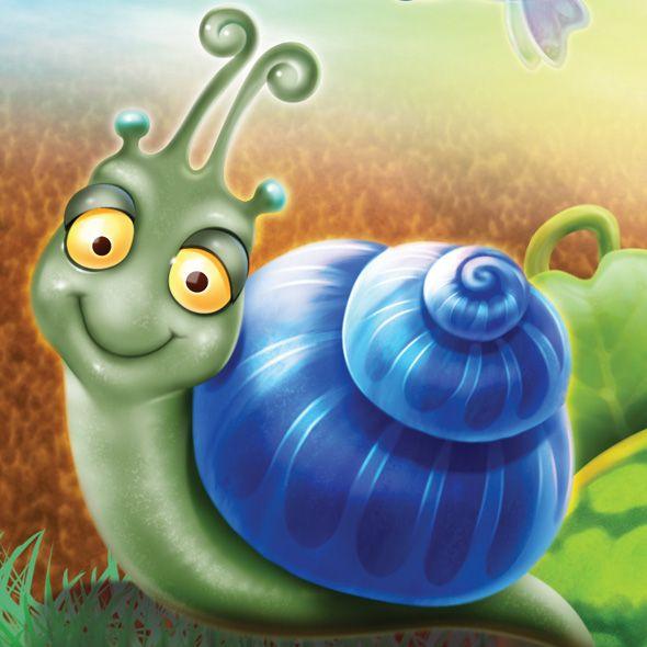 Blue clipart snail Clip Snails Art Morton My