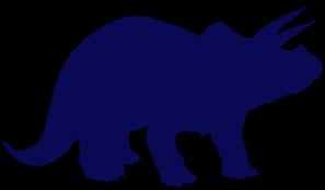Brachiosaurus clipart blue dinosaur Triceratops Dinosaur Triceratops Blue Art