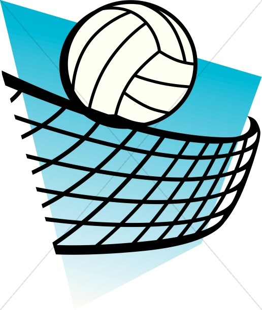 Blue clipart volleyball Blue with Blue Volleyball Volleyball