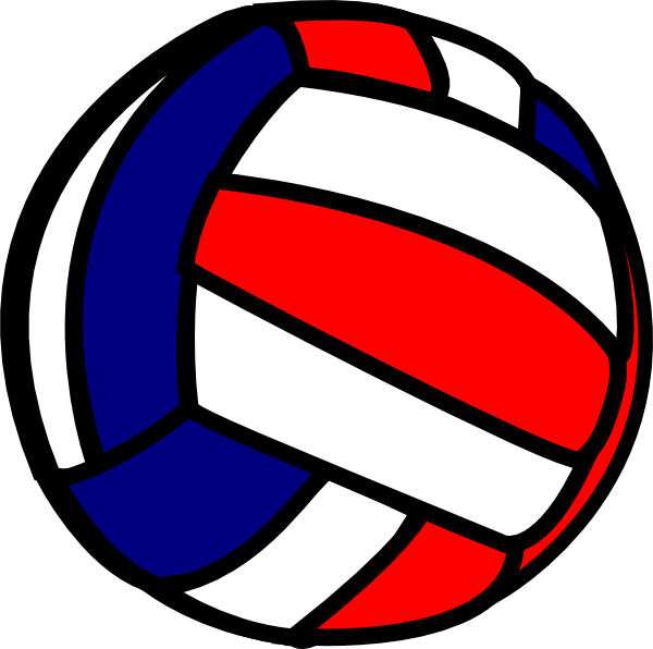 Blue clipart volleyball Volleyball Blue Volleyball Navy Navy