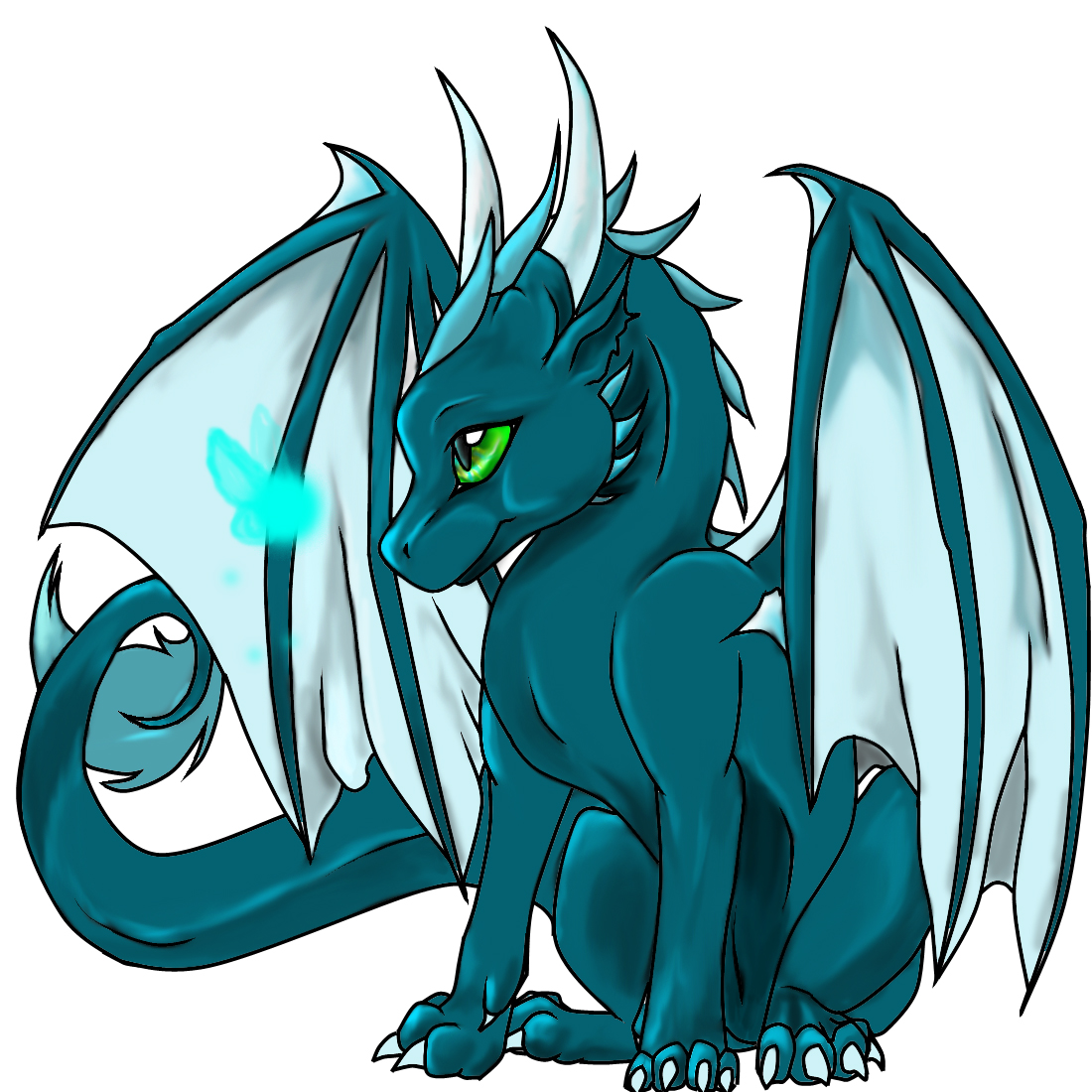 Randome clipart baby dragon #3