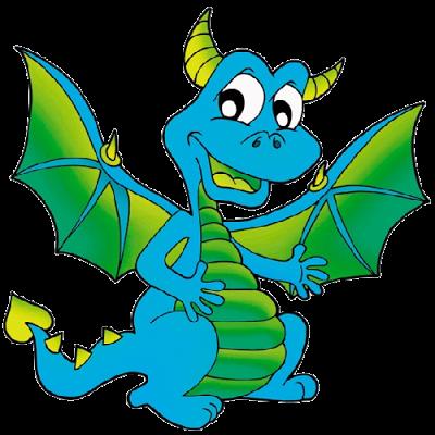 Blue Dragon clipart #11