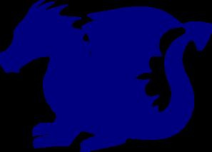 Blue Dragon clipart #1