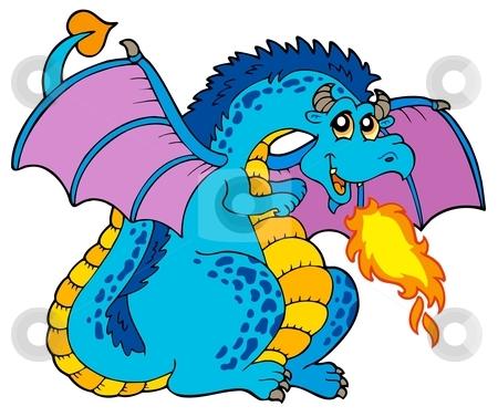 Blue Dragon clipart #4