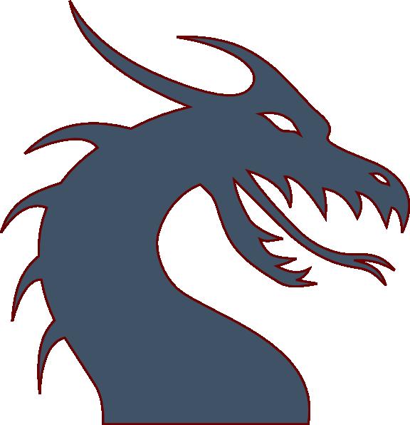 Blue Dragon clipart #3
