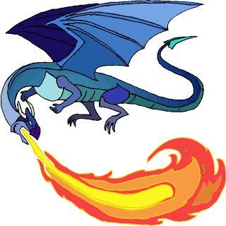 Blue Dragon clipart fire Dragon Clipart Blue Dragon Clipart