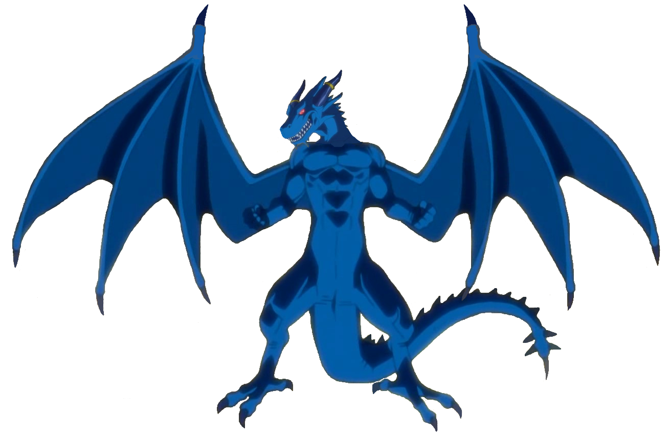 Blue Dragon clipart transparent Dragon Dragon powered by Blue
