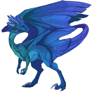 Blue Dragon clipart transparent Png Discussion breeders Rising Flight