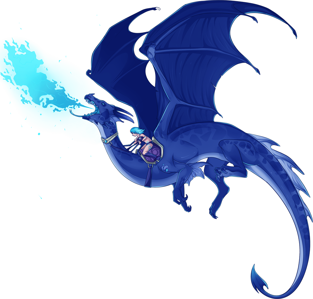 Blue Dragon clipart transparent Dragons Others Dragons and Cliparts