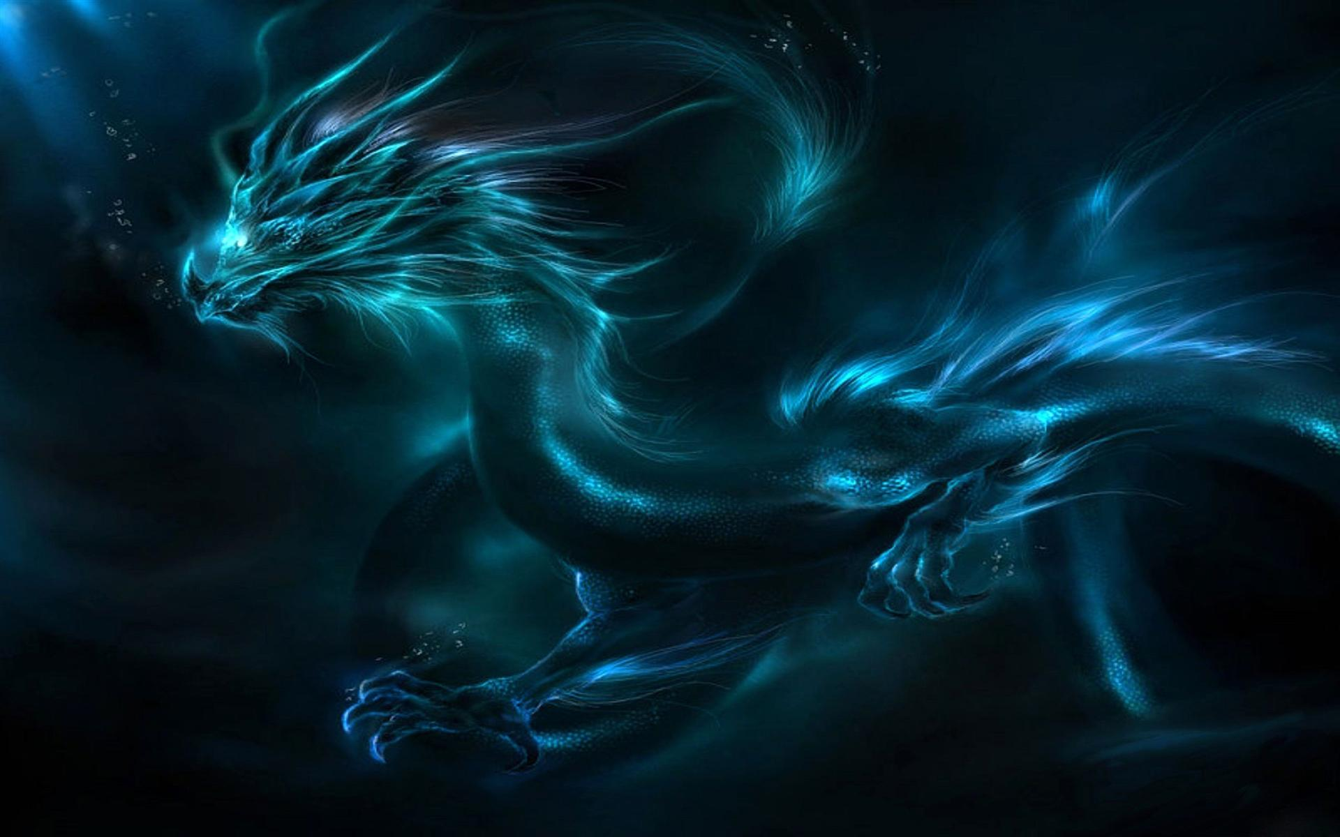 Blue Dragon clipart transparent Full and Free  Dragon