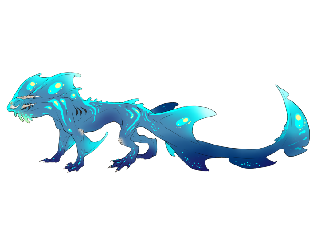 Blue Dragon clipart water dragon My Blue by ErisLeea Water