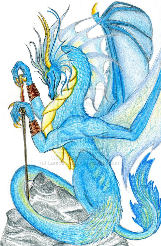Blue Dragon clipart water dragon On dragon by com