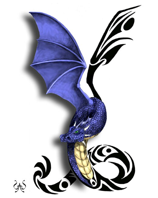 Blue Dragon clipart wings But the some mix DragonDragon